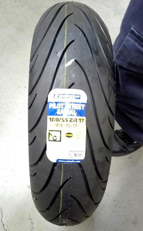 Michelin Pilot Street 180 55 17