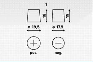 Bateria Plano Varta B13 02