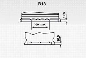 Batería Varta B18 44AH 12V 440A