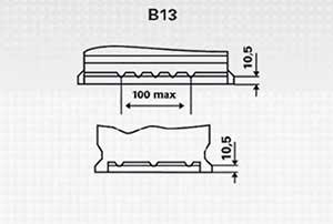 Bateria Plano Varta B13
