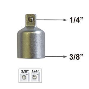 JBM Adaptador de 3/8″h a 1/4″m – 51877