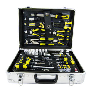 JBM Caja de herramientas aluminio 108 piezas – 53158