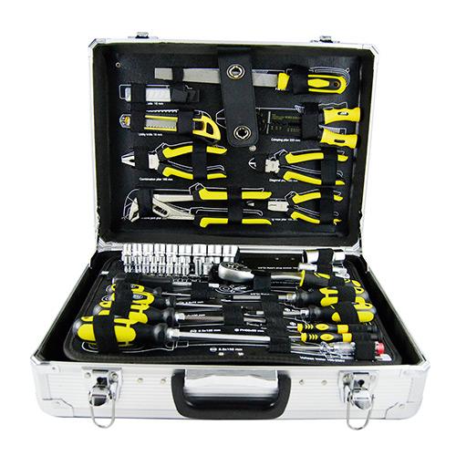JBM Caja de herramientas aluminio 108 piezas 53158