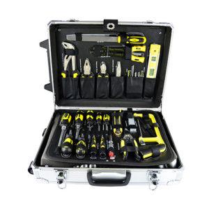 JBM Caja de herramientas aluminio 159 piezas – 53159