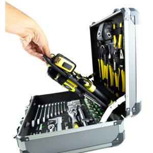 JBM Caja de herramientas aluminio 198 piezas – 53160