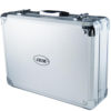"JBM Caja de herramientas de aluminio 108 piezas vasos 1/2"" 53444"