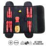 JBM Conjunto de puntas y destornillador eléctricamente aislados hasta 1000v 52009