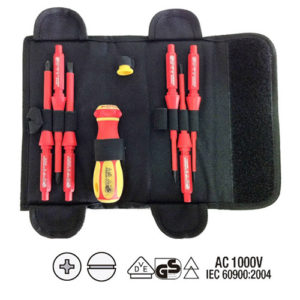 JBM Conjunto de puntas y destornillador eléctricamente aislados hasta 1000v – 52009