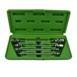 JBM Estuche con 4 llaves de vaso articuladas torx – 50622