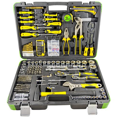 JBM Estuche de herramientas 303 piezas con vasos hexagonales 53212