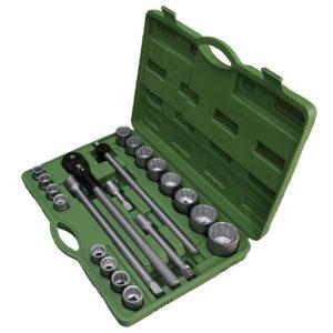 JBM Estuche de herramientas con 21 piezas autocle 3/4″ 12 cantos – 53398