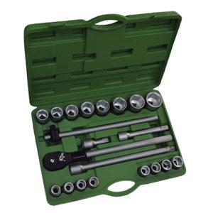JBM Estuche de herramientas con 22 piezas autocle 3/4″ 6 cantos – 53397