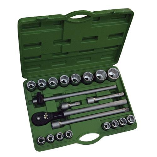 """JBM Estuche de herramientas con 22 piezas autocle 3/4"""" 6 cantos 53397"""