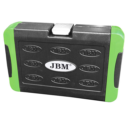 JBM Estuche de herramientas de 56 piezas con vasos hexagonales 53101