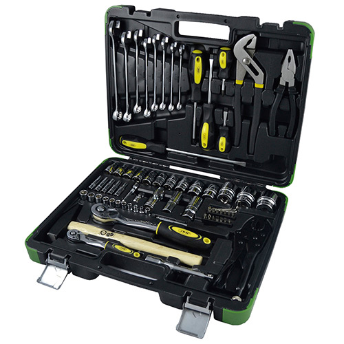 JBM Estuche de herramientas con 72 piezas 53106