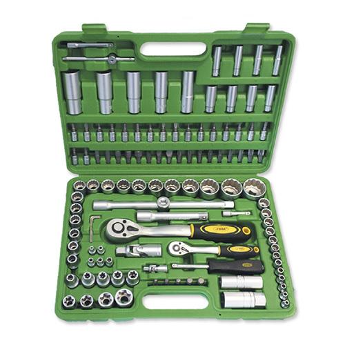 JBM Estuche de herramientas de 113 piezas vasos de 12 cantos 50791