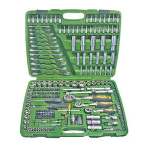 JBM Estuche de herramientas de 216 piezas con vasos hexagonales – 50895