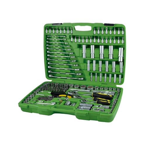 JBM Estuche de herramientas de 216 piezas con vasos hexagonales 50895