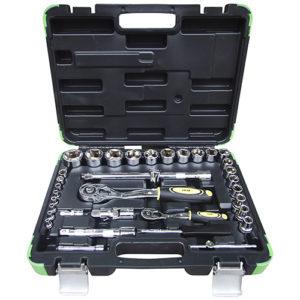 JBM Estuche de herramientas de 35 piezas en pulgada – 53076