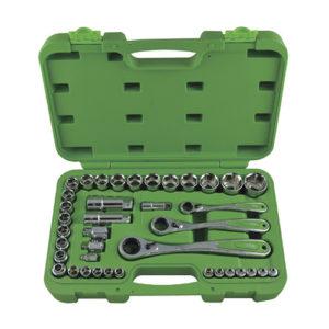 JBM Estuche de herramientas de 39 piezas hex de perfil bajo – 52418
