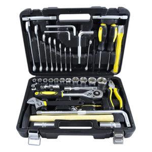 JBM Estuche de herramientas de 41 piezas con vasos hexagonales – 52713