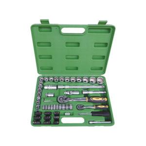JBM Estuche de herramientas de 74 piezas con vasos de 12 cantos – 51316