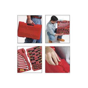 JBM Estuche de herramientas de 95 piezas con 4 cajones ensamblables – 51610