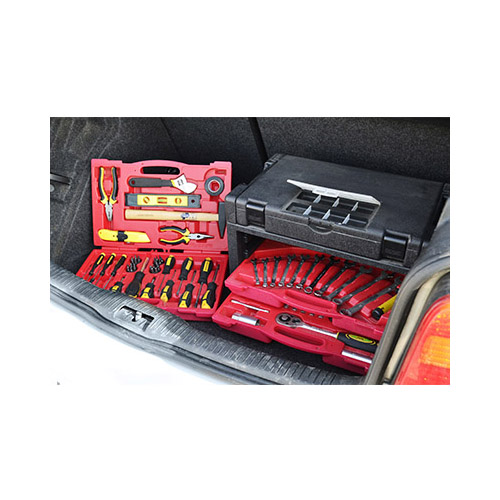 JBM Estuche de herramientas de 95 piezas con 4 cajones ensamblables 51610