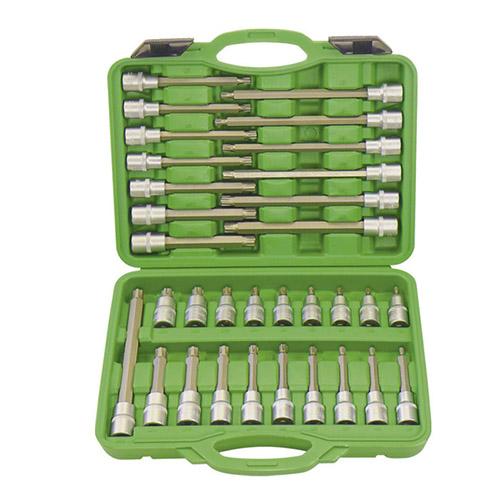 JBM Estuche de puntas para tornillos ribe 32 piezas 52606