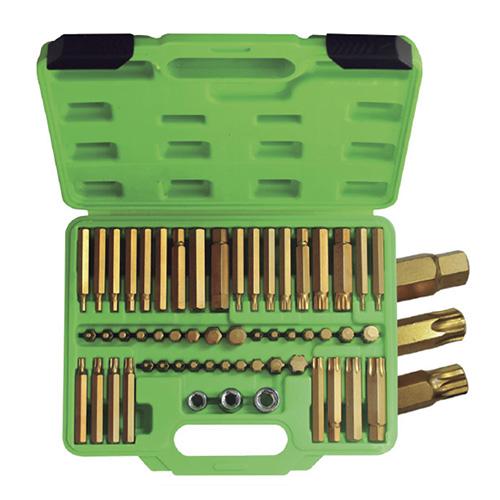 JBM Estuche puntas 55 piezas heavy duty 52753