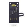 JBM Juego de 4 llaves torx planas en bolsa de tela 51747