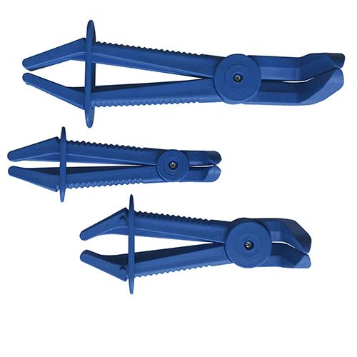 JBM Juego de tres pinzas para mangueras flexibles 53395