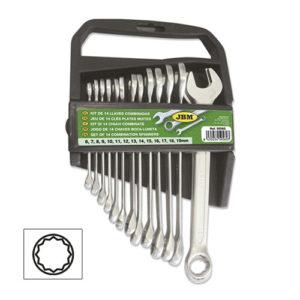 JBM Kit de 14 llaves combinadas – 50560
