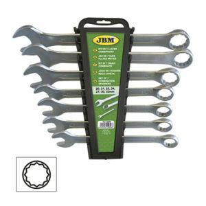 JBM Kit de 7 llaves combinadas – 50896