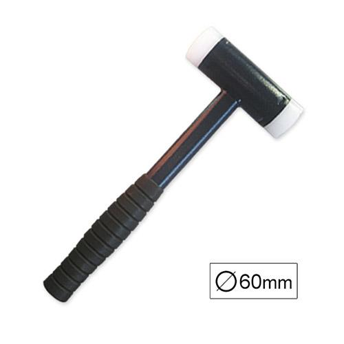 JBM Martillo nylon anti-rebote ø60mm 52426