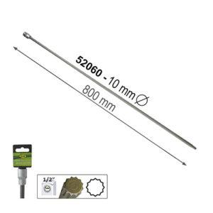 """JBM Punta extralarga de 12 cantos 800mm de 1/2"""" 10mm – 52060"""