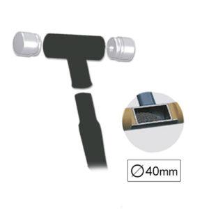 JBM Punta recambio para martillo nylon ø40mm – 11212