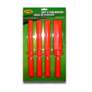JBM Set de 4 palancas de nylon tipo cuchilla – 51832
