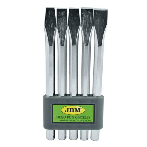 JBM Set de 5 cinceles 52014