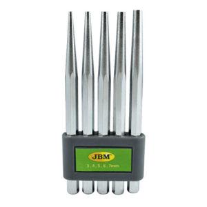 JBM Set de 5 punzones cónicos – 52049