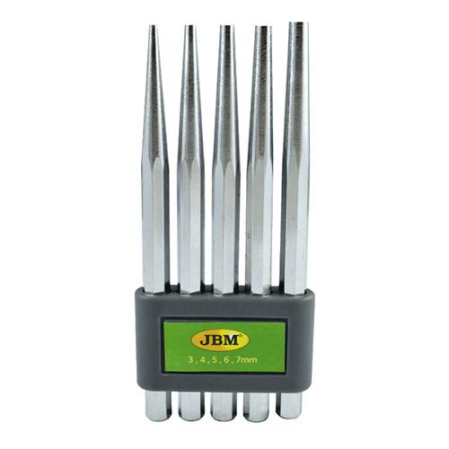 JBM Set de 5 punzones cónicos 52049