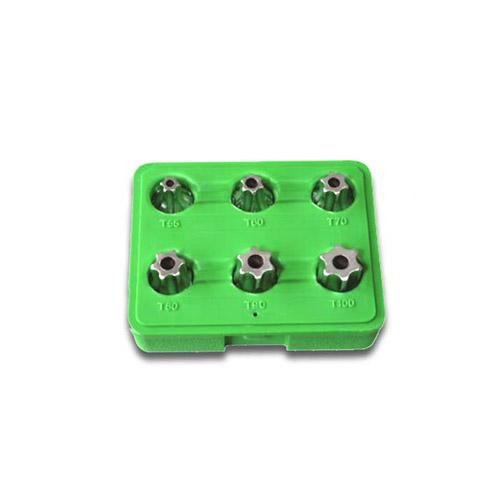 "JBM Set de 6 piezas de 1/2"" punta torx inviolable 51410"
