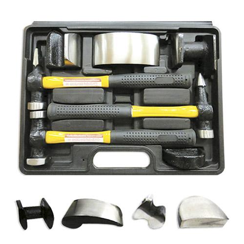 JBM Set martillos especial para chapa 51131