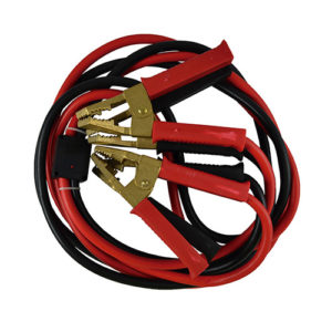 JBM Cable de arranque 35mm x2 / 3m con pinzas macizas de latón – 51363