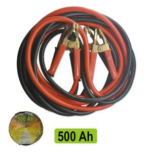 JBM Cable de arranque con pinzas macizas de latón 12mm / 3m – 51365