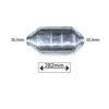 JBM Catalizador diesel plano kd3n 82527 - 282