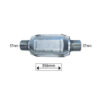 JBM Catalizador universal plano hasta 2.0 cc 51557