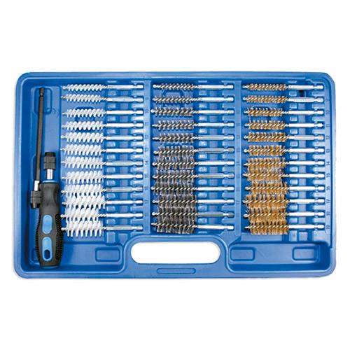 JBM Estuche 38 cepillos metálicos / plásticos 51989