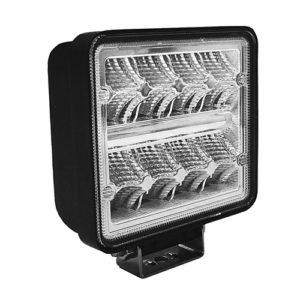 JBM Faro de trabajo de 16 LEDs 24w cuadrado luz dispersa – 53046