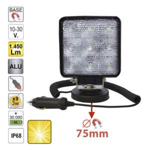 JBM Faro trabajo LED – cuadrado – 52566